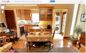 Bed and Breakfasts Google Virtual Tour