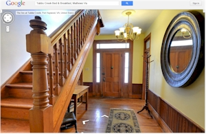 Bed and Breakfasts Virtual Tours Google